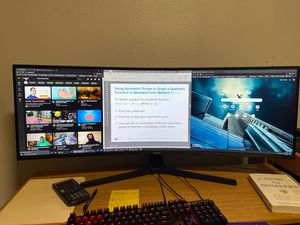 "SAMSUNG 43"" Curved Monitor for Sale in Oceanside, CA"