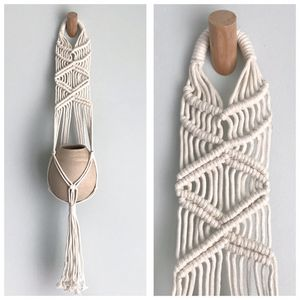 Macrame Boho Plant & Pot Hand Knotted Hanger NEW! for Sale in Los Angeles, CA