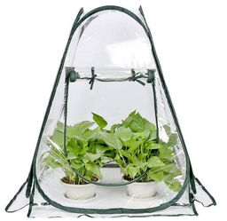 "Mini Small Greenhouse for Plant Outdoors Indoor, Pop Up Portable Grow Greenhouse Tent Flower House Gardening Backyard (28""x28""x32"") for Sale in Torrance,  CA"