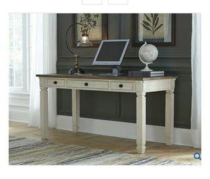 Bolanburg White/Oak Home Office Desk for Sale in LUTHVLE TIMON, MD