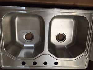 Stainless Steel Sink-18 gauge octogon for Sale in Chandler, AZ