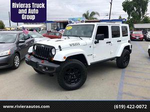 2015 Jeep Wrangler Unlimited for Sale in Chula Vista, CA