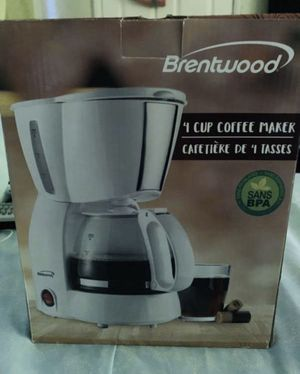 Brentwood 4 cup coffee maker for Sale in Long Beach, CA