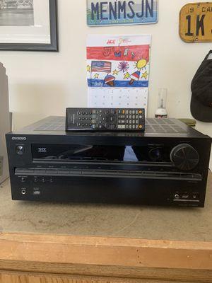 Onkyo. AV Receiver TX-NR616. With remote for Sale in Mesa, AZ
