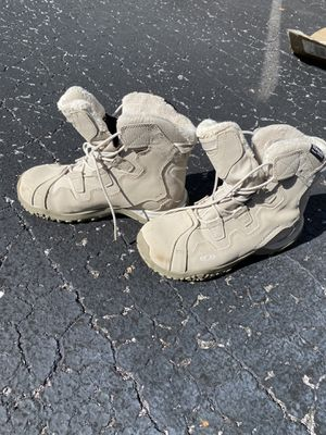 Tan thinsulate boots. Brand new for Sale in Dade City, FL