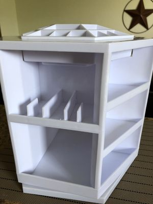 Cosmetic organizer in perfect conditions,no stains,no missing parts.Great for vanity space saver. for Sale in Miami, FL