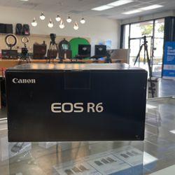 Canon EOS R 6 Mirrorless Camera Body for Sale in Anaheim,  CA