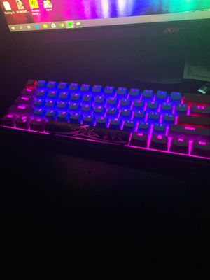 Ducky One 2 Mini Mechanical Keyboard (blue switches) for Sale in Warminster, PA