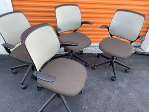 Steelcase cobi turnstone office chairs used msrp$500 for Sale in Santa Clara, CA