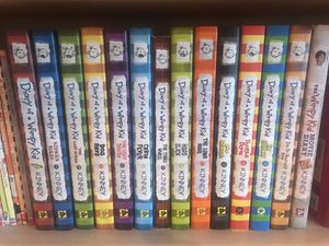 Diary of a Wimpy kid collection for Sale in Gilroy, CA