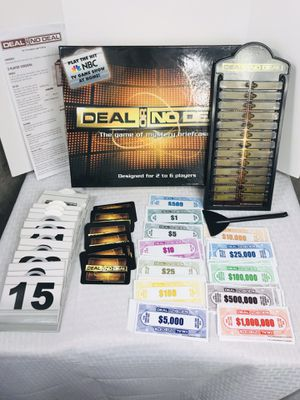 2006 Pressman Deal or no Deal Board Game for Sale in Providence, RI