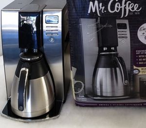 Mr coffee thermal programmable 10 cup coffee maker like new excellent working condition open box never used for Sale in Las Vegas, NV