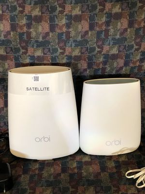 Netgear orbi router and satellite for Sale in Lincoln Park, MI