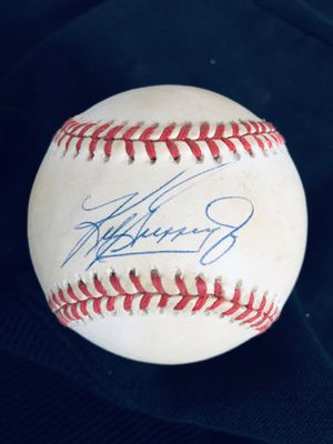 Ken Griffey Junior signed baseball for Sale in Binghamton, NY