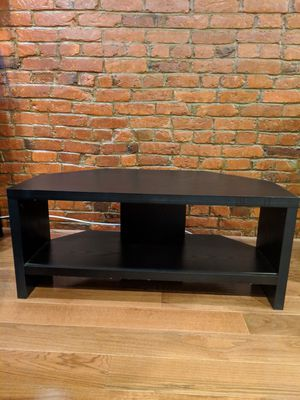 Black wooden TV stand for Sale in Washington, DC