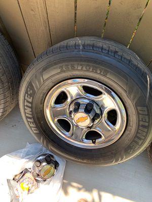2000 Silverado rims and tires for Sale in Rancho Santa Margarita, CA
