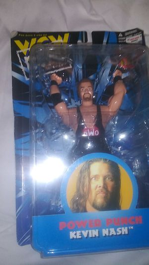 Power Punch Kevin Nash WCW NWO Wrestling Action Figure by KB Toys 1998 for Sale in Turlock, CA