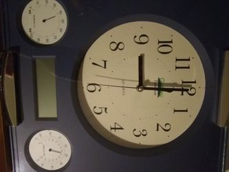 Wall Clock with alarm and temperature for Sale in La Mirada,  CA