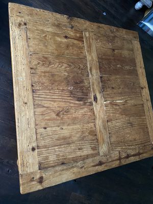 Square Solid Wood Coffee Table for Sale in Washington, DC