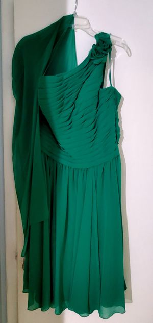 Beautiful green cocktail party dress. for Sale in Miami Gardens, FL