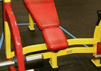 Star Trac Commercial Decline Bench With Weight Storage for Sale in Washington,  DC