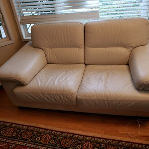 2 Italian Leather Sofas for Sale in Sammamish, WA