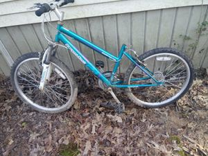 Womens mountain bike good tires etc just need tlc have seat. Will take 15 u pick up for Sale in Alexander, AR