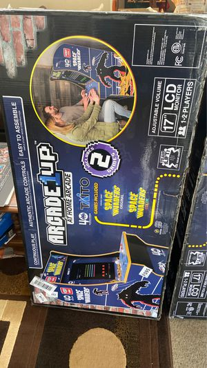 Space invaders 1up arcade video game brand new not opened for Sale in Riverside, CA