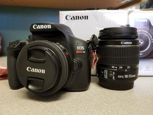 CANON T6 (2 LENSES) for Sale in Pleasanton, CA