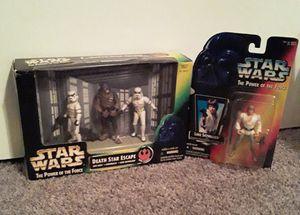 Star Wars Luke Skywalker & Death Star Escape POTF Action Figures for Sale in Phoenix, AZ