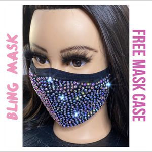 Face Mask Bling Iridescent Mask Case for Sale in Fresno, CA