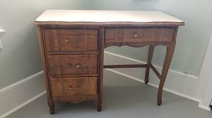 1930's light oak writing desk for Sale in San Diego, CA
