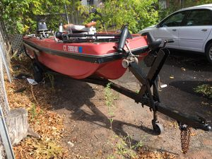 1976 evinrude 40hp 15ft fishing boat for Sale in Manchester, CT