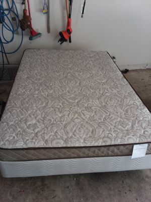 Full size mattress and box spring and frame delivery available for Sale in Austin, TX