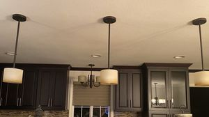 High End Pendant Lighting (3) for Sale in Buena Park, CA