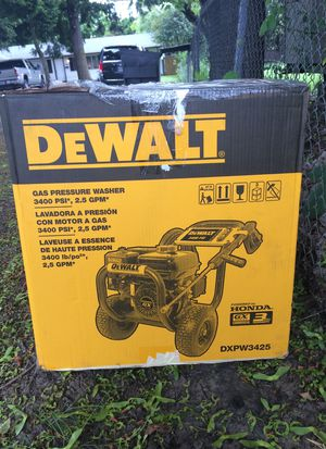 DEWALT 3400 PSI PRESSURE WASHER-GAS POWERED**NEVER OPENED** for Sale in Portland, OR