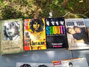 Classic rock books/magazines for Sale in San Antonio, TX