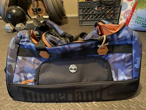 Timberland camo duffel bag BRAND NEW!!! for Sale in Fontana, CA