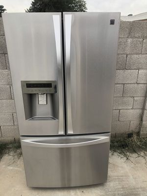 Refrigerator kenmore stainless steel counter depth for Sale in Phoenix, AZ