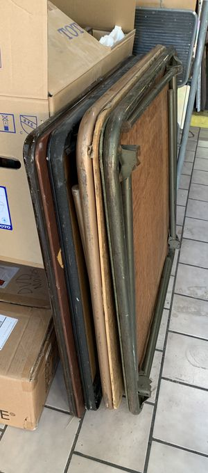 Vintage Folding Card Tables for Sale in East Los Angeles, CA