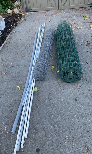Free wire screen and PVC pipes for Sale in Lafayette, CA