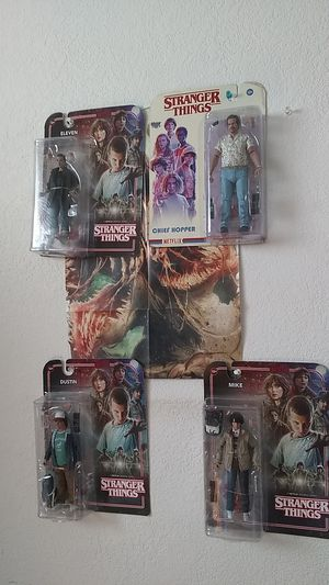 Stranger things action figures for Sale in Antioch, CA