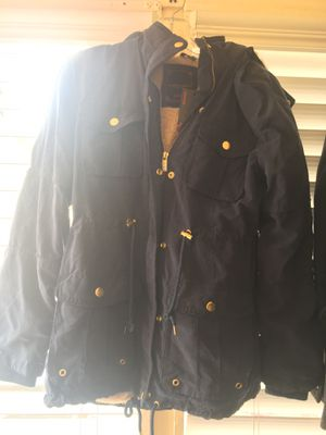 Blue cotton jacket for Sale in Ontario, CA