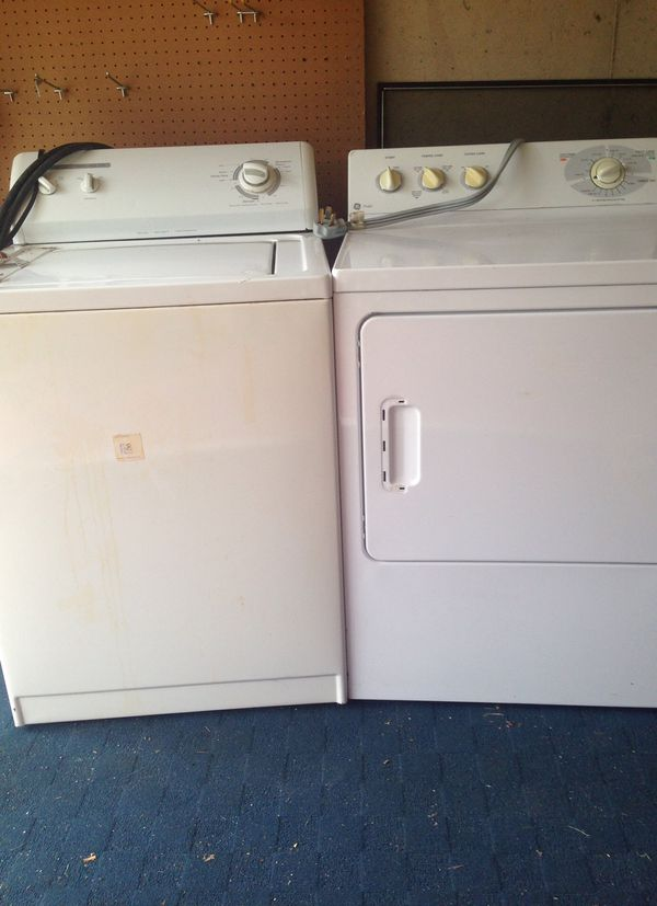 Kenmore Washer GE Dryer