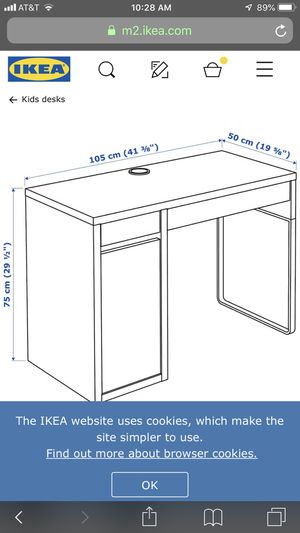 IKEA white desks- one left! for Sale in San Mateo, CA