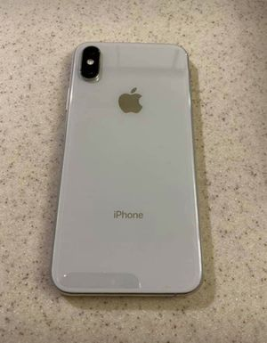 Apple iphone x 64gb silver for Sale in New York, NY