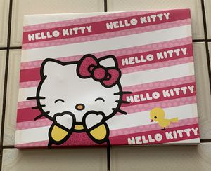 """Hello kitty wall hanging 15"""" x 12 1/2"""" for Sale in Whittier, CA"""