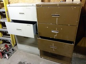 Lateral file cabinets for Sale in Lorain, OH