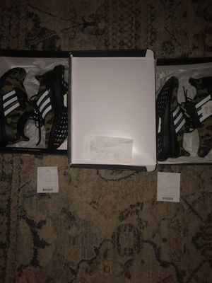 Bape X Adidas Ultraboost size 9 for Sale in Chapel Hill, NC