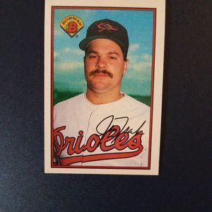 Jim Traber 1989 Bowman Baseball Card for Sale in Woodbine, MD